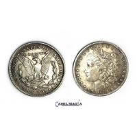 Moneda Magnética Morgan (Replica)