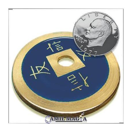Moneda China Jumbo Bronce (74 mm)
