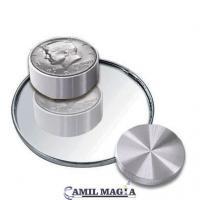 Caja Boston Medio Dolar Aluminio por Camil Magia