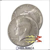 Cascarilla Expandida Magnetizable Medio Dolar por Camil Magia