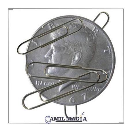 Moneda Magnética Medio Dolar por Camil Magia