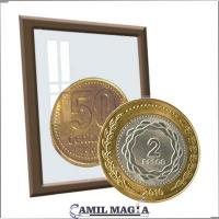 Plata y Cobre $2 y 50c por Camil Magia