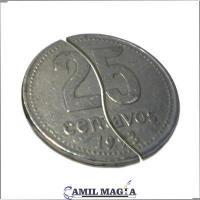 Moneda Plegable Sistema Externo 25c por Camil Magia