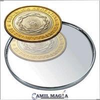 Moneda Doble Dorso $2 por Camil Magia