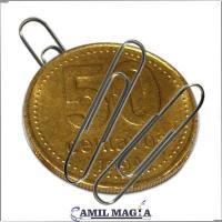 Moneda Magnética 50c por Camil Magia