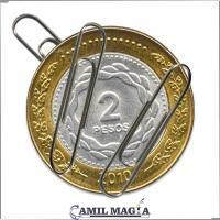 Moneda Magnética $2 por Camil Magia