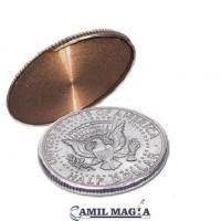 Cascarilla Expandida Deslizable Medio Dolar (Dorso) por Camil Magia