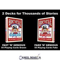 Combo Barajas Fake 'N' y Fast 'N' Genious por So Magic
