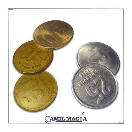 Hopping Half 50c y 25c por Camil Magia