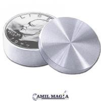 Caja Okito 1 Dolar (Eisenhower) Con Retención Aluminio Por Camil Magia